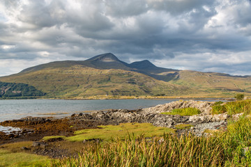 A Cloudy Day Along the Loch, Isle of Mull, Scotland