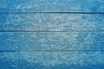 blue vintage wood texture table background