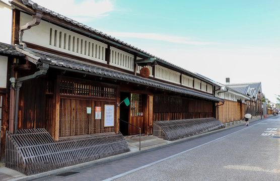京都・伏見の酒蔵
