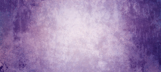 Textured purple background with grungy dark borders and lots of distressed old vintage grunge texture in elegant violet and royal purple colors