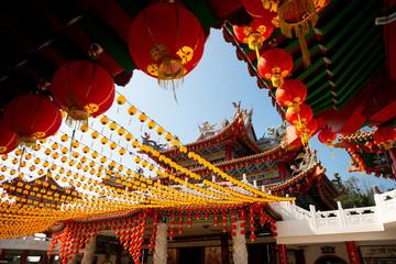 Fotobehang Bedehuis Thean Hou temple in Kuala Lumpur