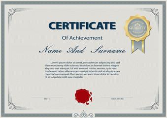 Certificate or diploma