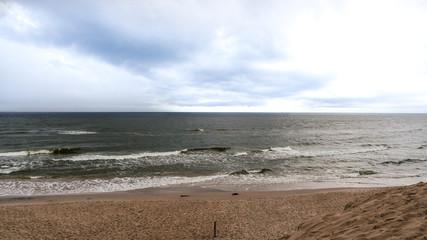 Park Slowiński, morze i plaża