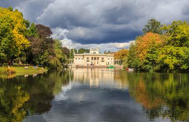 Royal Lazienki Park in Warszaw, Poland