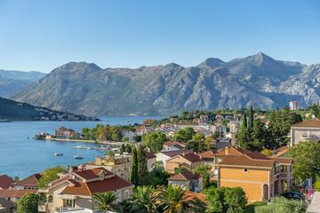 Kotor in Kotor Bay Montenegro