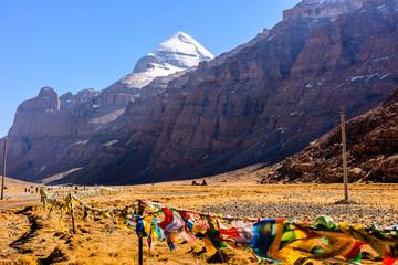 Obraz Tibet. Mount Kailash. - fototapety do salonu