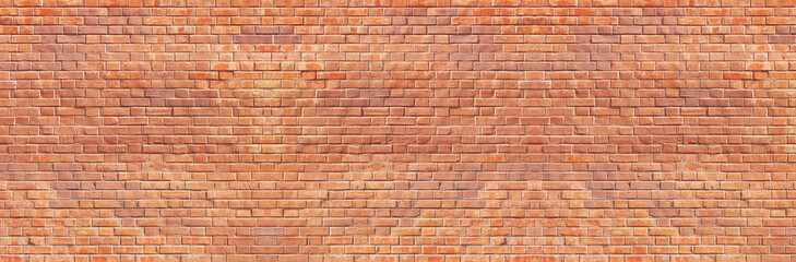 Brick wall background. Bright light stone texture. Empty stucco wallpaper