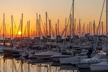 rimini a tourist town on the adriatic coast Fototapete