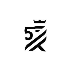 lion logo vector design inspiration