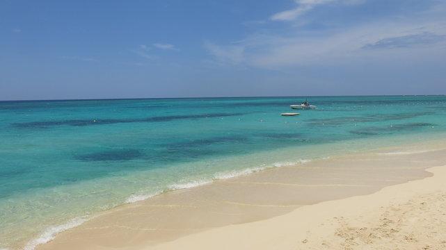 Tropical Jamaican beach - the sun before the storm