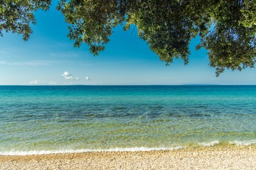 Wall Mural - Sunny Scenic Adriatic Beach