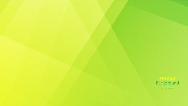 Green tone color and Yellow color background abstract art vector