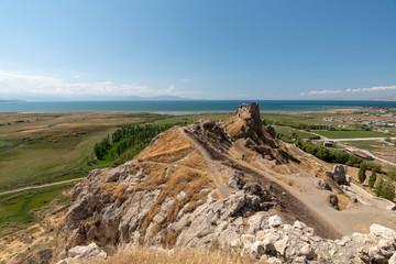 View from the Fortress of Van, Turkey