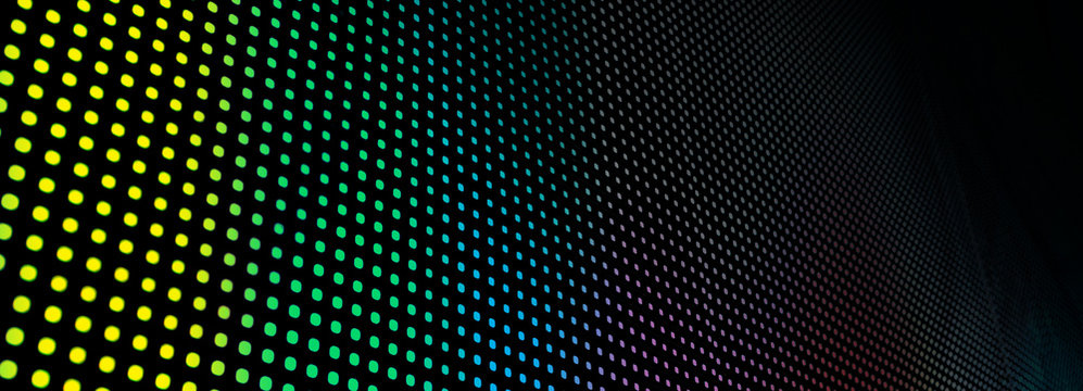abstract led screen