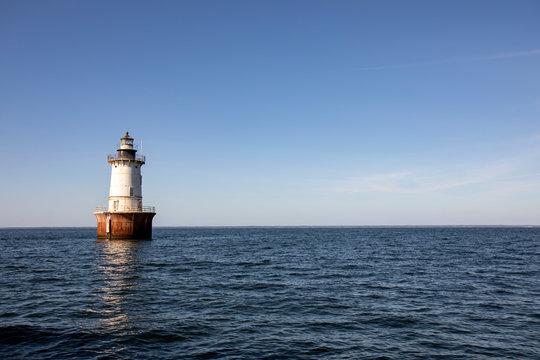 Hoopers Island Lighthouse landscape