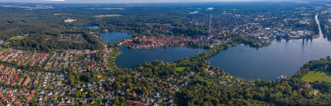 Luftbild der Stadt Mölln (Schleswig-Holstein)