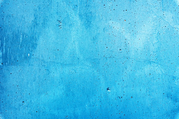 Wall Mural - Rough blue concrete surface background