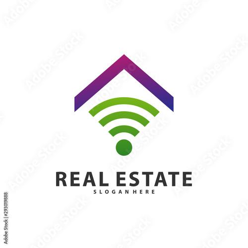 Smart Home Idea Logo Template Tech City Logo Designs