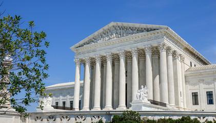 United States Supreme Court building in Washington D.C.