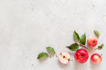 Red Apples, Copy Space Wall mural