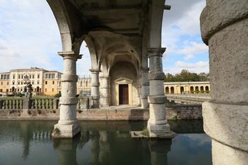 Baroque architecture of Villa Contarini, Italy