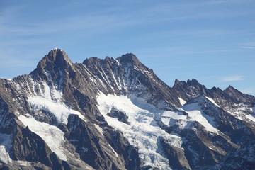 scenic landscape of Jungfrau mountain, landmark in Switzerland