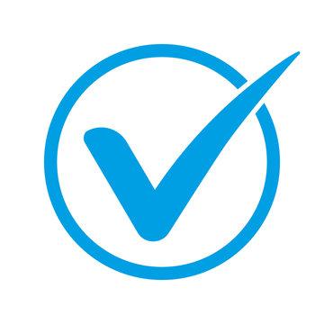 Afbeeldingsresultaat voor blue checkmark