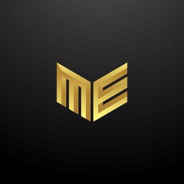 ME Logo monogram 3d version