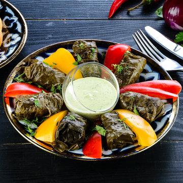 Uzbek cuisine Dolma