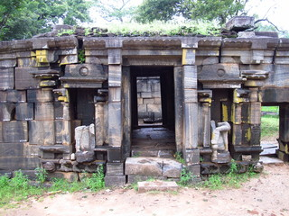 Ruins of Siva Devalaya in Polonnaruwa, Sri Lanka