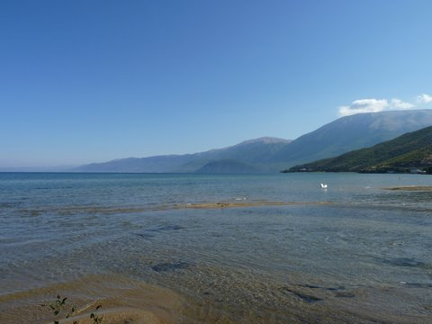 Lake Ohrid, Albania