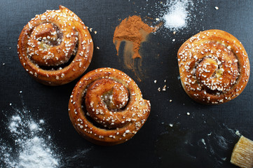Freshly Made Cinnamon Buns