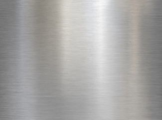 Fotorolgordijn Metal brushed steel or aluminum metal texture