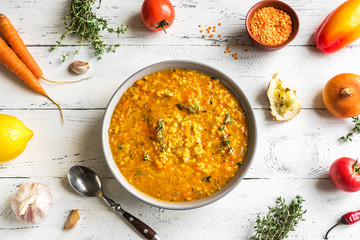 Fotobehang - Red Lentil Soup
