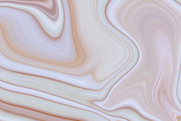Marble ink colorful. brown marble pattern texture abstract background. can be used for background or wallpaper Wall mural
