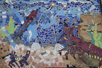 Mosaics and crabs