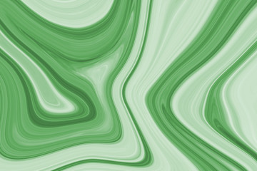 Ink texture water green illustration background. Can be used for background or wallpaper. Wall mural