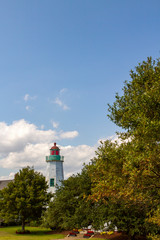 Old Point Comfort Lighthouse at Fort Monroe