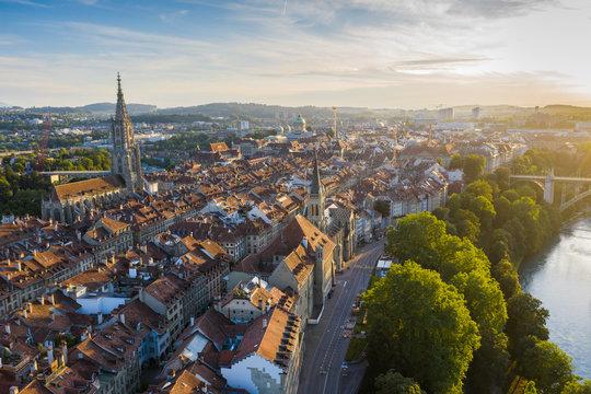 View of Bern oldtown