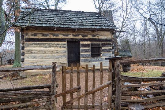 Recreation of Lincoln's Boyhood Cabin