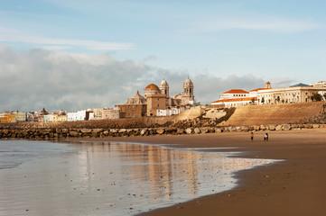 Cadiz und der Altstadt