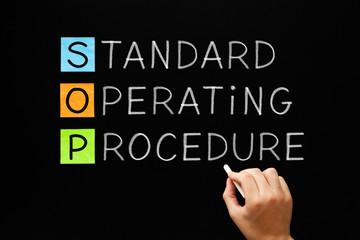SOP Standard Operating Procedure Concept