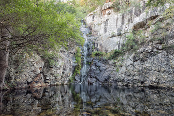 Waterfall in the Blyde River Canyon