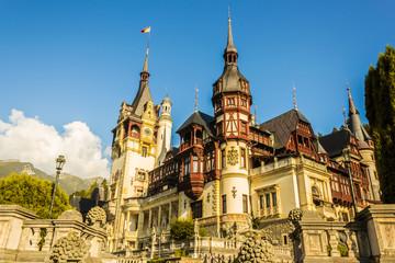 Peles Castle, Sinaia, Transilvania, Romania