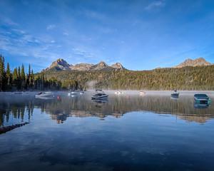 Redfish Lake Morning