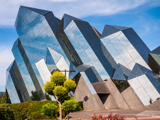 Quartz building in Futuroscope theme park in Poitiers, France