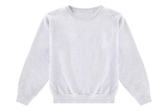 Blank white sweater