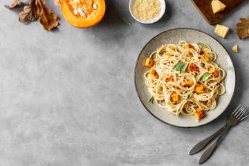 Fotobehang - Pumpkin Pasta