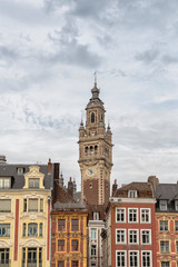 Lille France Belfry - Bell Tower in European Square