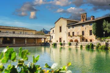 Tuscan Hot Spring Bath in Bagno Vignoni